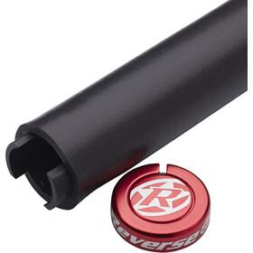 Reverse Seismic Ergo Grips 145mm black/red